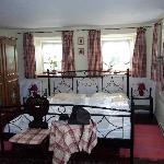 Bedroom in farmers house