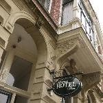 façade de l'hôtel Amsterdam