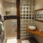 Salle d'eau Chambre d'hôtes Convenant Pennec