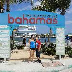 Mis hijos en las Bahamas