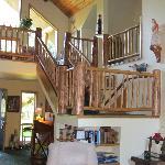 Interior of Candlewycke Inn
