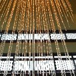 Lights in the lobby