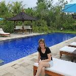 Shared pool area at Alam Wangi Spa