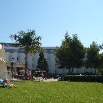 hôtel côté terrasse piscine