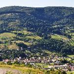 La vallée vue du balcon