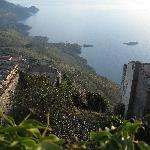 Panorama dalle rovine del Castello