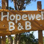 Road Sign - Hopewell B&B
