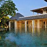 Villa pool and rooms