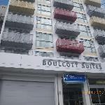 Wellington: Boulcott Suites:building