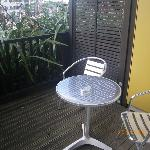 Wellington: Boulcott Suites:balcony
