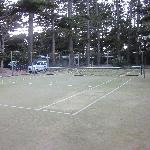Tennis Court at Pinetrees
