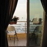 Balcony at Hotel Victoria in Bagnara