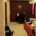 Habitacion DBL BK Suites que tambien tienen una cama mas