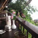"""Lovely Breakfast Restaurant """"On the Rock"""""""