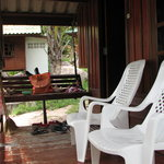 Porch of my bungalow