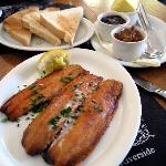 Riverside Breakfast kippers