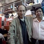 Na Serapia owner and regular customer