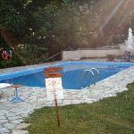 Triantafilies-pool area
