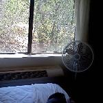 Suite 231 (with faulty AC and the fan that was provided without apologies)