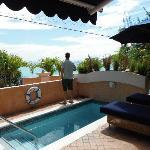Room #2 pool and ocean view