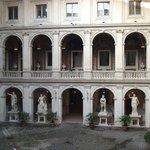 Musée Palazzo Altemps - cour intérieure.