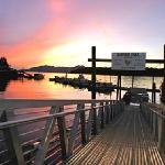 Another beautiful sunset at Clover Pass Resort