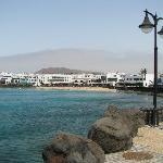 Playa Blanca town sea front