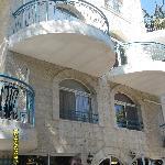frontage of Eden Hotel Jerusalem