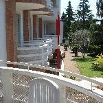 Balcone verso la hall