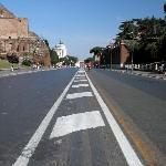 Road to Piazza Venezia