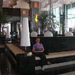 En el Lobby del hotel Riu/Panamá