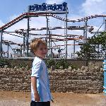 Roller coaster in skegness town