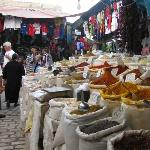 Spices in the medina/market
