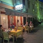 Neptun storefront in a back street ...