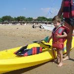 si esce in canoa (luglio 2009)