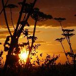 Sunset over West Runton
