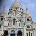 Sacre Coeur high on the hill