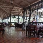 The verandah of the Verandah in the Forest