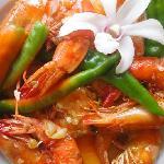 Kawnkita Restaurant @ Amor Farm Beach Resort - Shrimp Gambas