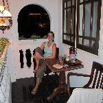 veranda of superior room