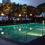Krungthep pool in the early evening