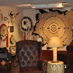 War Bonnet collection inside the Native Gallery