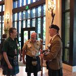 Davidson Clansmen Gather From GA, ME and AUS