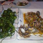 Great Padron Peppers, Great Clams.