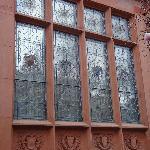 Window in Phillips Mansion