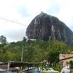 That's a big rock...