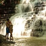 Couple at the Waterfalls