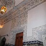 Zimmer mit alten Mosaiken