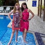 Girls Loved the Pool