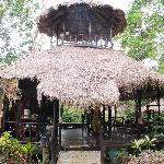 open plan Thai-style restaurant